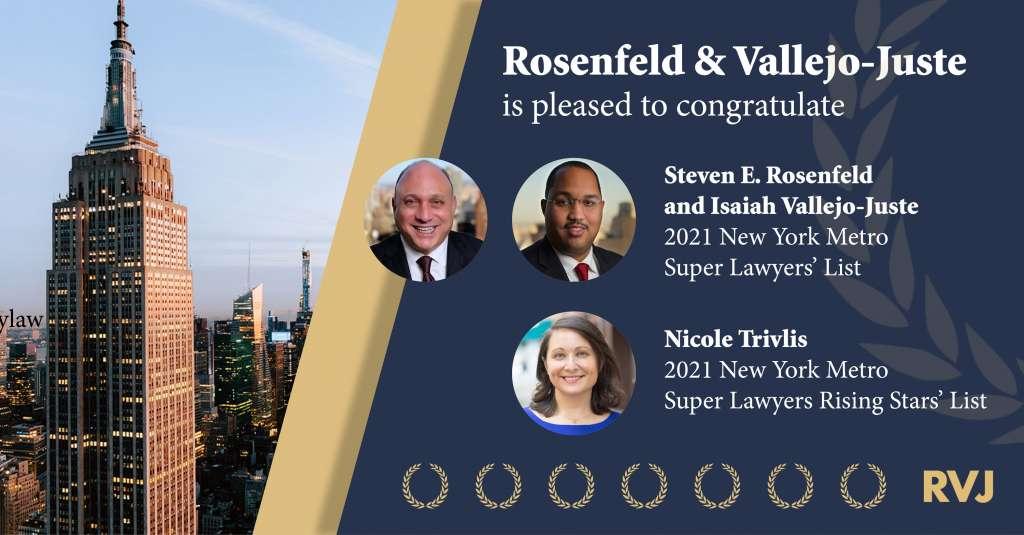2021 Super Lawyers Announcement
